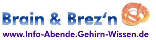 Logo Brain & Brezn - mit Webadresse