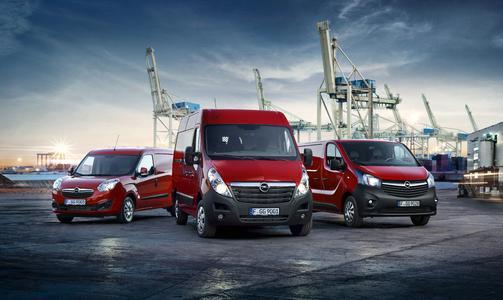 Die Opel-Nutzfahrzeugflotte 2016: Combo, Movano und Vivaro mit sauberen und sparsamen Euro 6-Dieselmotoren