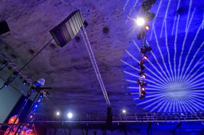 RCF HDL 30-A Line Array System Proofs its Class 500 Meters Under the Earth