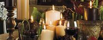 Zeitumstellung am 28. Oktober: Winterzeit ist Kerzenzeit / Copyright © 2012 ingrid grimm pr