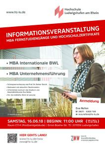 Info Tag an der HS Ludwigshafen