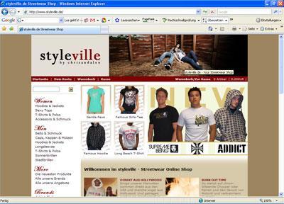 Styleville Streetwear Shop