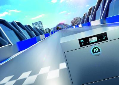 Mit der Premium-Qualität der neuen Spülmaschine M-iClean U gehen Sie voll auf Erfolgskurs. Nachhaltig!