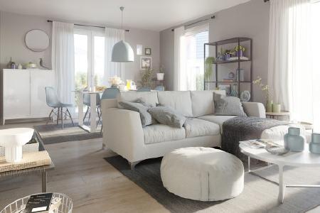 Besonders im Frühjahr ist Zeit zum Renovieren. Mit den Wohntrends 2020 können Sie Ihr Wohnzimmer ganz einfach gemütlich gestalten
