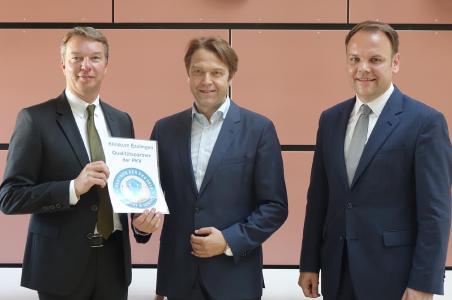 von links nach rechts: Bernd Sieber, Benno Schmeing, Ingo Rust