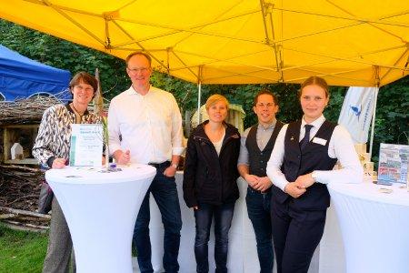 Strandhotel-Team vertreten auf dem Biosphären-Konzert des Wattenmeer Besucherzentrums in Cuxhaven