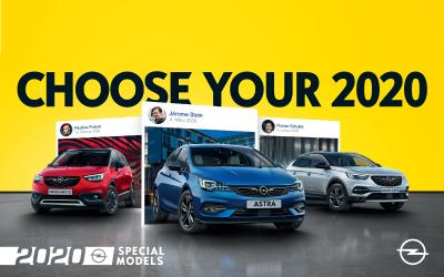 "Start the New Year with Highly Equipped ""Opel 2020"" Models"