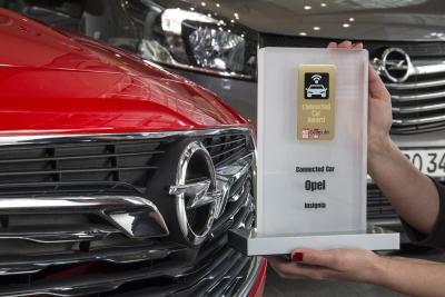 Connected Car: Erster Preis für Top-Vernetzung und -Infotainment im Opel Insignia