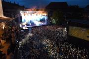 Das Musikfestival findet jeden Sommer in Lörrach und in den umliegenden Orten im Dreiländereck statt © Juri Junkov