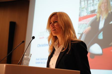 Christine Nickel, Gewinnerin des Women's Award 2011