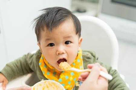 Nichts schmeckt Babys besser: Selbstgemachter Brei aus dem Thermomix