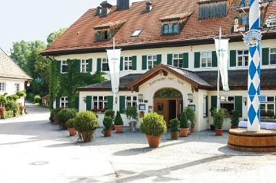 Brauereigasthof Hotel Aying Gasthof aussen