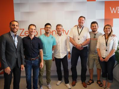 Broadcast Solutions team at Zero Density headquarters