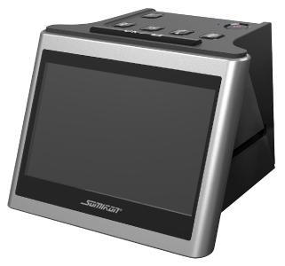 "Somikon Stand-Alone-Dia- und Negativscanner SD-1200, 12,5 cm IPS-Display (5""), 14 MP / Copyright: PEARL. GmbH / www.pearl.de"