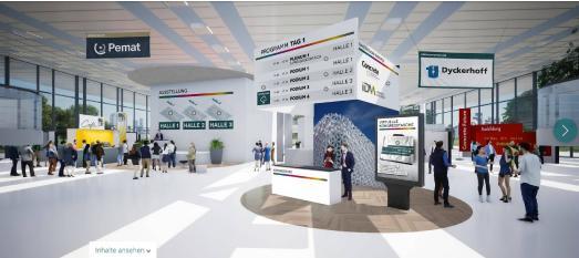 In Februar 2021 fanden die BetonTage erstmals als digitaler Kongress statt.
