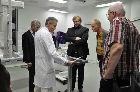 Besuch bei Dr. Mitrovics in der Radiologie und Neuroradiologie