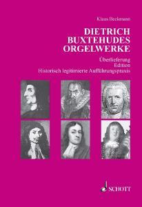 SCHOTT SBU65 Dietrich Buxtehudes Orgelwerke
