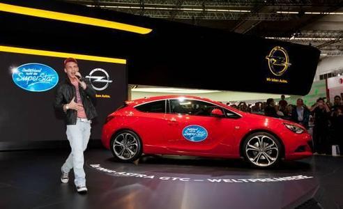 Deutschland sucht den Superstar – mit dem neuen Opel Astra GTC 2