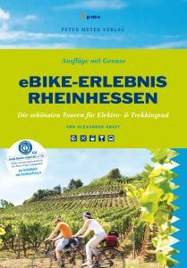 """Buchcover  """"eBike Erlebnis Rheinhessen"""" – 12 Touren für Genießer"""