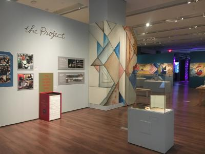 Ausstellungsbereich: Die Wiedmann Bibel heute
