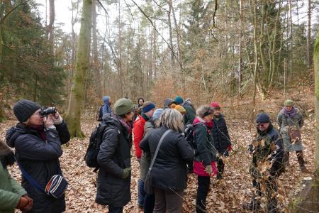 In verschiedenen Workshops ging es beim Seminar der niedersächsischen Waldpädagoginnen und Waldpädagogen um die Themen Wald, Natur und Mensch (Foto: Niedersächsische Landesforsten)