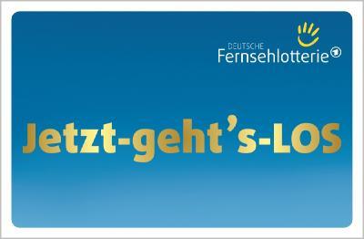 Mit dem Glücksrad werden die Gewinnzahlen der Deutschen Fernsehlotterie ermittelt