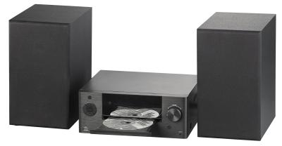 auvisio Mini-HiFi-System MSX-712.dvd mit DVD-/CD-/Media-Player, Bluetooth & FM, 120 Watt