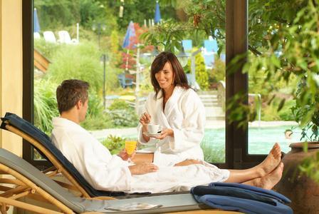 Die Bade- und Wellness-Anlagen von monte mare bieten Entspannung auf hohem Niveau. Foto: monte mare