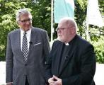 ZdK-Präsident Prof. Dr. Thomas Sternberg und Reinhard Kardinal Marx, Vorsitzender der Deutschen Bischofskonferenz
