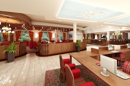 Hotel Edelweiss Lobby