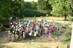 Über 100 Kinder und Jugendliche mit und ohne Behinderung nehmen jedes Jahr an der integrativen Ferienfreizeit am Werbellinsee teil, darunter auch 20 mit Hämophilie
