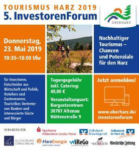 InvestorenForum Tourismus Harz 2019