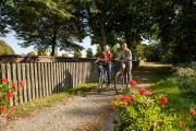 Zwei markierte Radwege laden zu einer schönen Ausfahrt in Bad Nauheim ein.