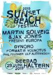 SUNSET BEACH FESTIVAL 2019: Once a year...but this year just once in a lifetime...the beach is coming...