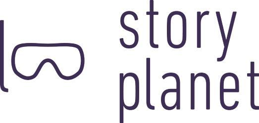 Im Logo von StoryPlanet ist eine Taucherbrille zu sehen, weil die App Sprachlernenden ermöglicht tief in eine andere Sprache einzutauchen. Logo: Lutz Jahnke
