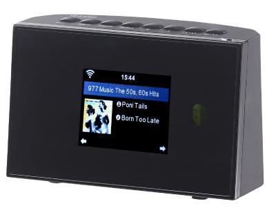 ZX 1685 08 VR Radio Digitaler WLAN HiFi Tuner mit Internetradio