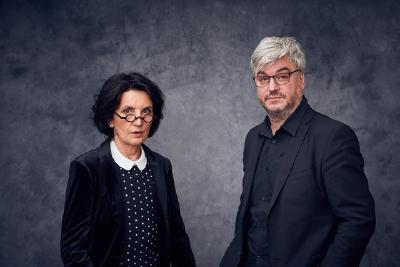 Prof. Dr. Petra Jürgens und Institutsleiter IfM André Klinkenstein (© Institut für Musiktherapie Berlin - IfM)