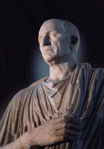 Marmorstatue  des Marcus Nonius Balbus aus Herculaneum