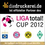 diedruckerei.de is Official Partner of the LIGA total! CUP 2012