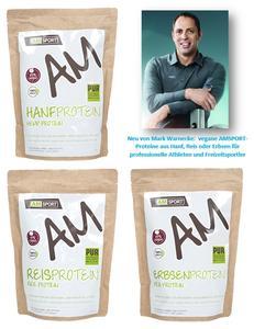 Neu: vegane Proteine von AMSPORT