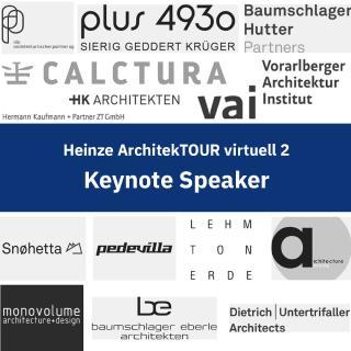 Renommierte Referenten aus der Architektur-Szene bei der 2. Edition der Heinze ArchitekTOUR virtuell