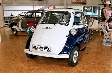 BMW- Isetta war der Hit der 50er Jahre