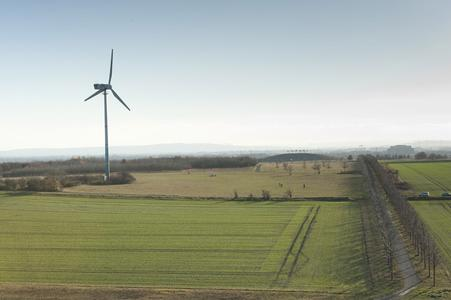 Windrad (Foto: Langreder)
