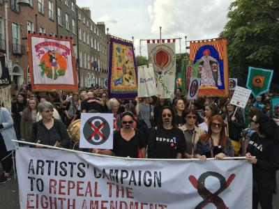 Artists' campaign to repeal - All Banners (c) Christian Kerskens