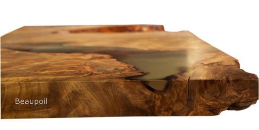 original tischunikate von beaupoil aus kauri holz an einem. Black Bedroom Furniture Sets. Home Design Ideas
