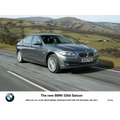 The new BMW 520d Saloon