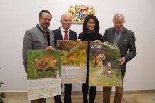 Schulkalender 2019: Kleine Tiere – ganz groß / Fotos: BJV