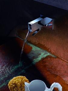 Footwash - ITA Waschtisch-Wand Einhandbatterie (Ausladung 185 mm).