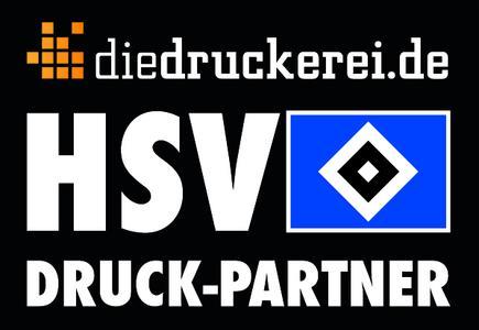 Druckpartner des HSV: diedruckerei.de