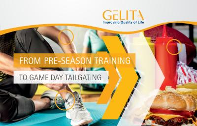 Get in The Game with GELITA® Collagen Peptides and Gelatine